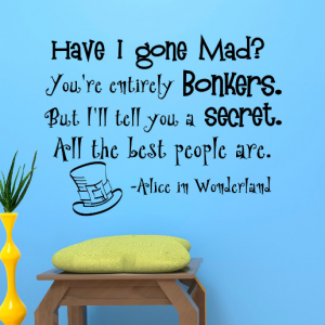 Mad Hatter Quotes | Best Mad Hatter S Quotes The Madhatters Co Uk